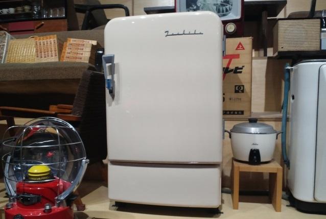 中古の小さな冷蔵庫