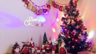 クリスマスの素敵な飾り付け